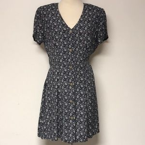 "Vintage ""All That Jazz"" Floral Dress"